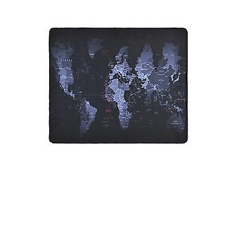 World Map- Speed Edge, Rubber Mouse Pad, Waterproof Game Desk, Mousepad