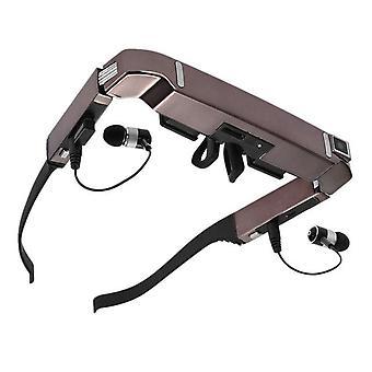 Vision 800 gafas wifi inteligentes de pantalla hd ancha pantalla hd portátil gafas 3D teatro privado con cámara de juego bluetooth con audio