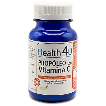 Health 4U Propóleo con Vitamina C 800 mg 100 Tablets