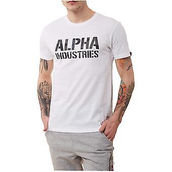 Alpha Industries Camo Print Tshirt 15651309 universal miesten t-paita