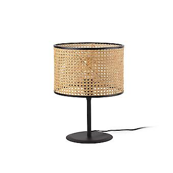 Table Lamps Cylindrical Table Lamp Black, E27