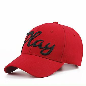 Play Baseball Cap Men's Outdoor Cotton Hat Embroidery
