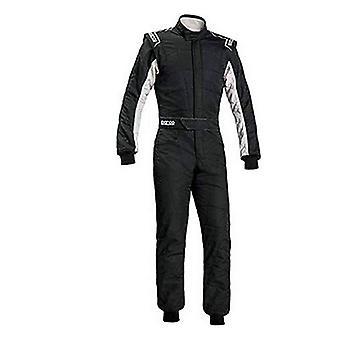 レーシングジャンプスーツ スパルコ R548 スプリント RS-2.1 ブラック/ホワイト (サイズ 48)