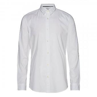 Diesel S-Bill Long Sleeved White Shirt