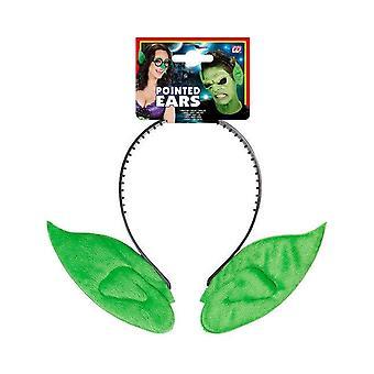 Volwassen groene elf oren hoofdband