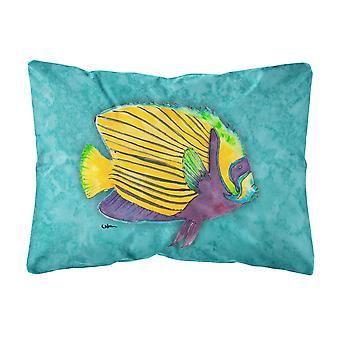 Caroline Schätze 8674Pw1216 tropischen Fisch Leinwand Stoff dekorative Kissen, groß, mehrfarbig