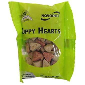 Novopet Puppy Hearts 40 Bags (Dogs , Treats , Biscuits)