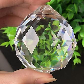 Feng Shui roikkuu leikattu lasi kristalli pallo sphere prismat suncatcher riipus