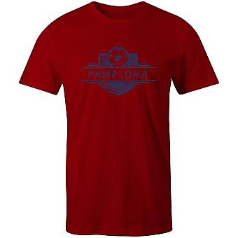 Osasuna 1920 established badge football t-shirt