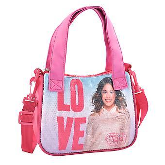 Glänzende Liebe Violetta Handtasche