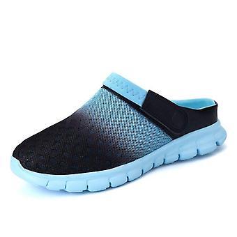Breathable Beach Flip Flop, Slip On Slippers - Black Yue