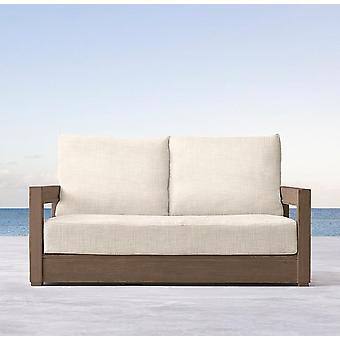 Wooden Furniture Garden Teak Double Sofa