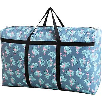 Printed Oxford Cloth Large Capacity Vintage Luggage Bags Moving Bag |Foldable Storage Bags