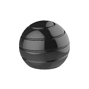 55mm שחור להסרה שולחן מסתובב הכדור העליון, קצות האצבעות מסתובב צעצוע לחץ העליון az4752