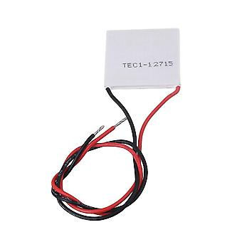 For TEC1-12715 136.8W 40mm Thermoelectric Peltier Cooler Plate for CPU Car Drink WS413