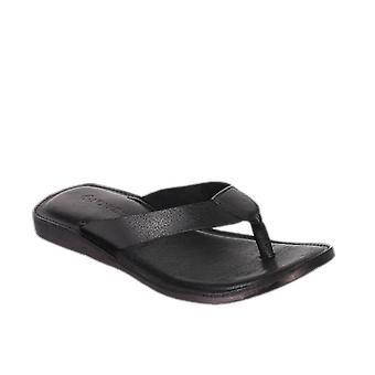 Manila mens leather flip flop slippers