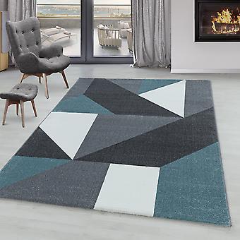Tapis à poils courts TARIO Salon Design Tapis Géométrique