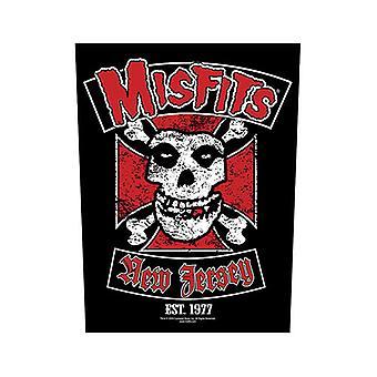 Misfits - Patch de dos de motard
