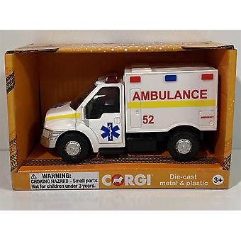 Corgi CHUNKIES CH069 Ambulance Truck Diecast and Plastic Toy