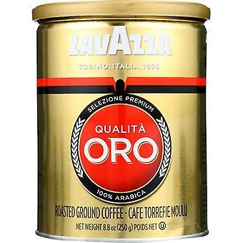 Lavazza Coffee Grnd Qualita Oro C, Case of 6 X 8.8 Oz
