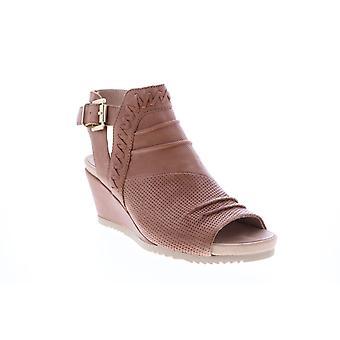 Earth Adult Womens Attalea Bonaire Tumbled Leather Wedges Heels