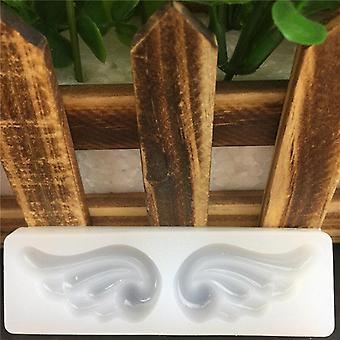 As novas asas de anjo grande formam molde de gesso de aromaterapia - 3sets