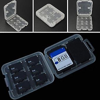 Dvojvrstvová pamäťová skrinka Hard Micro Hc Tf Ms 8 Slots