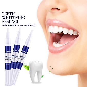 3pcs Portable Tooth Whitening Gel Pen Remove Plaque Yellow Stains Tooth Cleaning Serum Oral Hygiene Teeth Whitening Tool