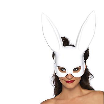Women's Rabbit Mask Costume Accessory Bunny Half Mask for Birthday Party Easter Halloween