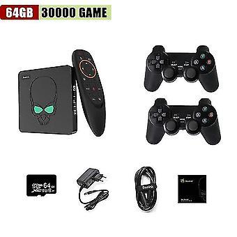 Kinhank™ retro super konzole x king amlogic s922x android tv box emuelec 3 v 1 videa herní konzole