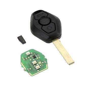 315 МГц бесключевой вход Remote Key Fob Передатчик Кликер Неразрезанный лезвие для Bmw