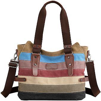 Crossbody Messenger Canvas Shoulder Bag