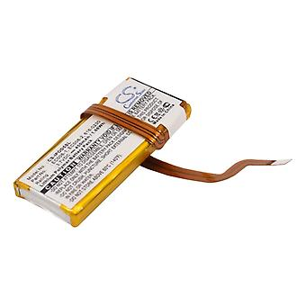 Battery for Apple iPod Classic 6th GEN 80G 120GB Video 616-0229 616-0230 EC008