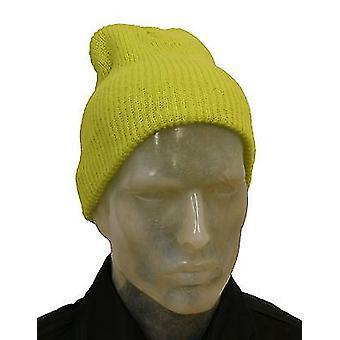 Lavorato a maglia morbida lanoso inverno sci Beanie cappello Cap