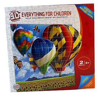 Immobilier Hot Air Balloon 3D Puzzle Set Children Play Toy Décoration Murale