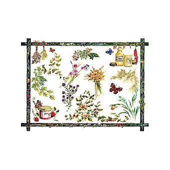 Tuftop lille tekstureret bordplade Saver, landkøkken 30 x 22cm