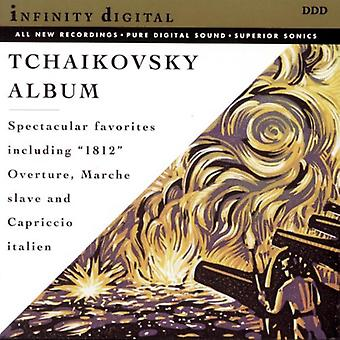 P.I. Čajkovskij - Tchaikovsky: Romeo & ouverture-fantasia di Juliet; Slavo marzo; Capriccio Italien; Ouverture 1812 [CD] USA importare