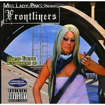 Ms. Lady Pinks Presents - Frontliners [CD] USA import