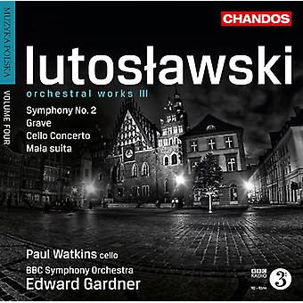 Witold Lutoslawski - Lutoslawski: Orchestral Works, Vol. 3 [CD] USA import