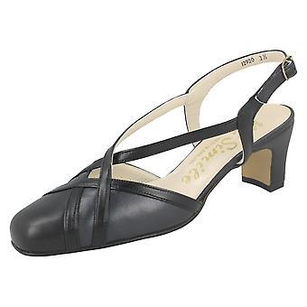 Ladies Nil Simile Narrow Fitting Formal Shoes Bandana