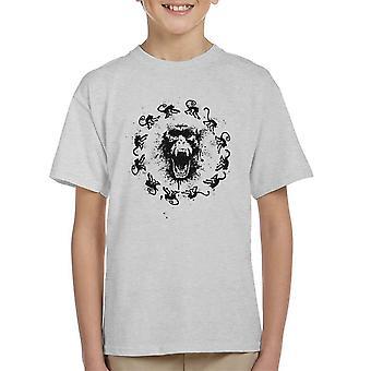 Monkey Fever 12 Monkeys Kid's T-Shirt