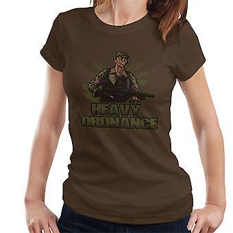 Zware Ordnance Jorge Poncho Ramirez Predator Women's T-Shirt
