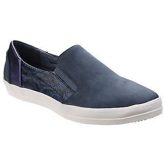 Divaz Womens Minaj Casual Slip On Shoe Blue