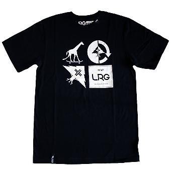 LRG RC Logo Mash Up t-paita musta