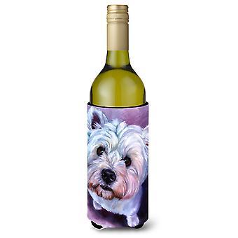 Bebida de garrafa de vinho de Westie WhatsUp isolador Hugger