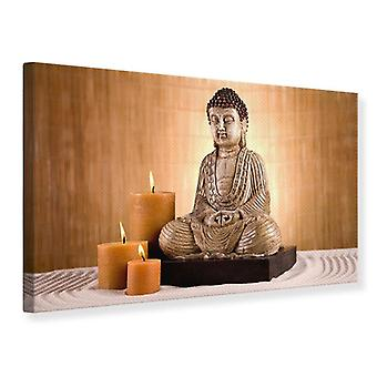 Leinwand drucken Buddha In Meditation