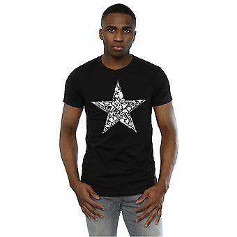 מלחמת הכוכבים גברים ' כוכב s-חולצת מונטאז '