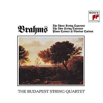 Budapest String Quartet - Brahms: Quartets & Quintets [CD] USA import