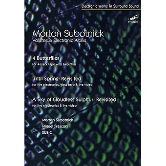 M. Subotnick - Electronic Works Vol. 3 [DVD] USA import