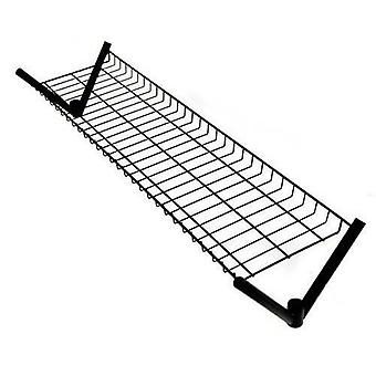 6ft Black Top Shelf for Robust Clothes Rail